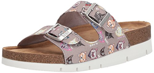 Skechers BOBS Women's Posh Cats Slide Sandal Tpe