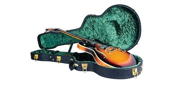 Tutor cg-044-hs Vintage carcasa rígida, Shallow guitarra de cuerpo ...