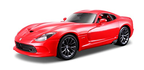Carro Special Edition 1.18 Modelo 2013 SRT Viper GTS Maisto Vermelho