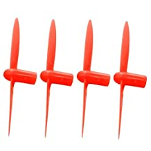 Hubsan Q4 H111 All Red Nano Quadcopter Propeller blade Set 32mm Propellers Blades Props Quad Drone parts - FAST FROM Orlando, Florida USA!