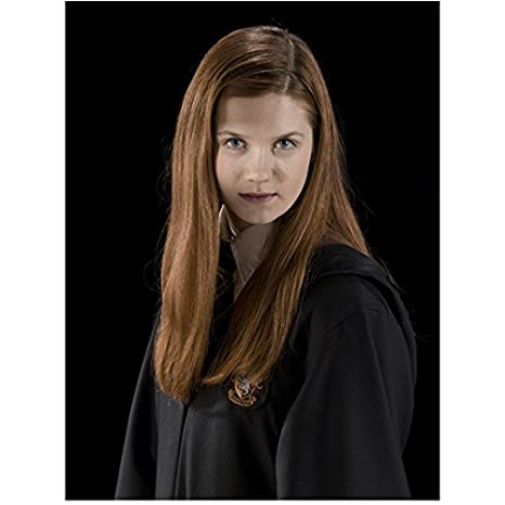 harry potter bonnie wright as ginny weasley in school cape 8 x 10