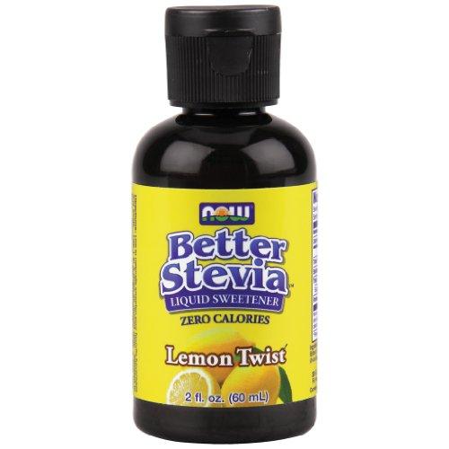 Now Foods BetterStevia Liquid Extract Lemon Twist – 2 oz. 8 Pack