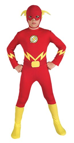 Child's The Flash Halloween Costume (Size:Small 4-6) ()