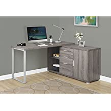 "Monarch Specialties I 7191 Computer Desk with a drawer Dark Taupe 42""L"