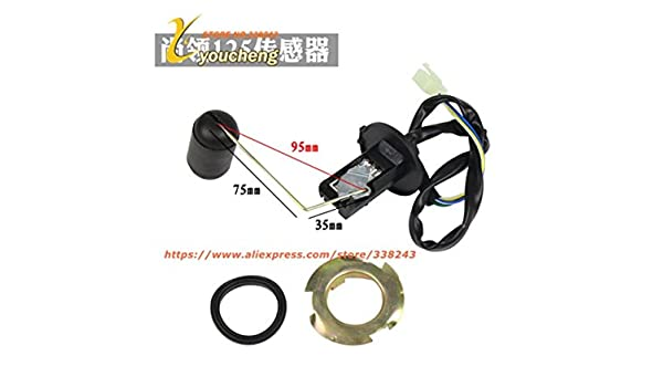 Amazon.com : Replacement Repair Scooter Fuel Level Sensor Gasoline Tank Sensor Oil Float Gauge Chinese Moped : Sports & Outdoors