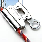 Rojuicy Alloy Steel Manual Rope Grab, Rock Climbing