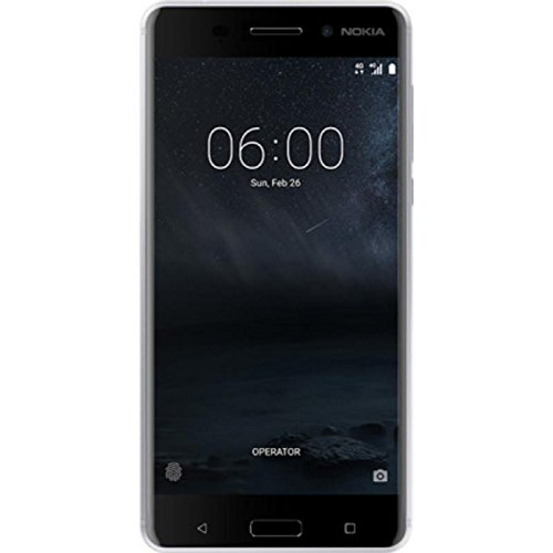 Nokia 6 TA-1000 32GB Silver, Dual Sim, 5.5', GSM Unlocked International Model, No Warranty
