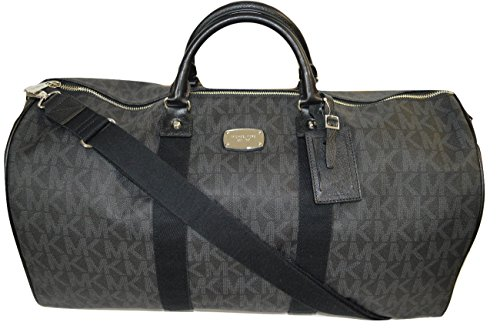 Michael Kors Duffle Luggage Bag Carry On Travel Black by Michael Kors