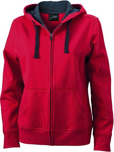 2store24 Sudadera Sweat shirt Red Mujer Con Capucha carbon Hidrófugo xS6px