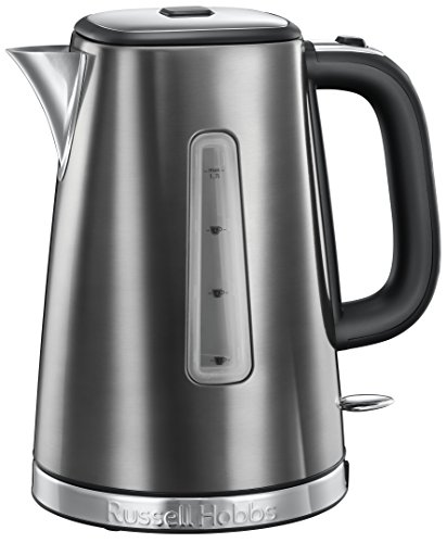 Russell-Hobbs-23211-Luna-Quiet-Boil-Electric-Kettle-Stainless-Steel-3000-W-17-Litre-Grey
