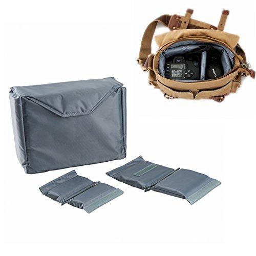 G-raphy Camera Insert Camera Bag for All DSLR SLR Cameras (Large)