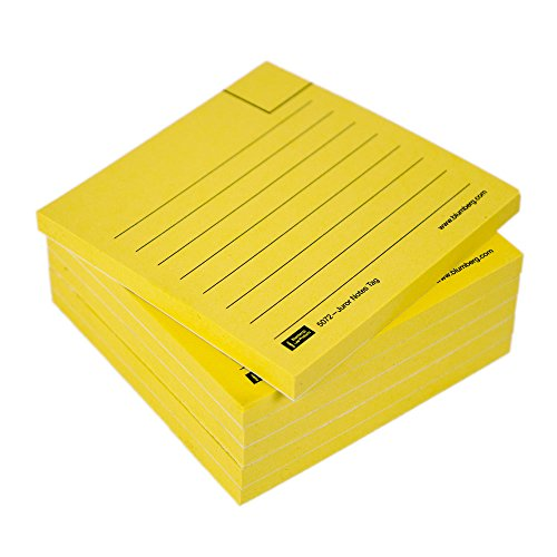 Self-Adhesive, Ruled Note Tags for The People Pod Seating Chart and The Jury Case Your Voir Dire Organizer (F5072 sticky notes (Person Seating)