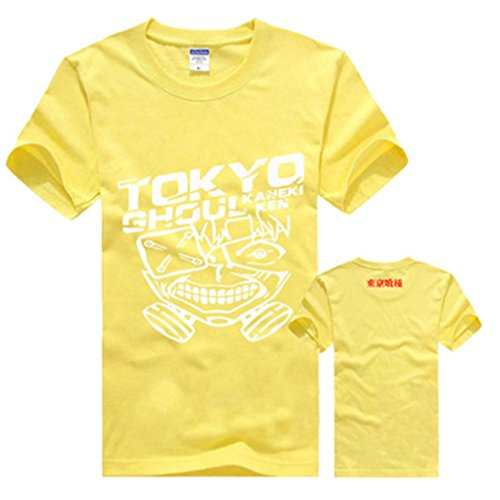 Bromeo Tokyo Ghoul Anime Ropa Mangas Cortas Tee T-shirt Camisetas 153