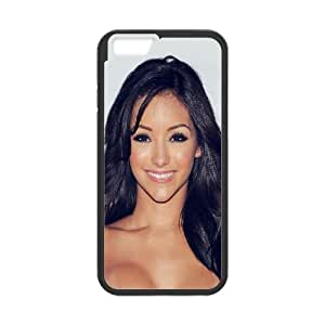 Celebrities Beautiful Model Melanie Iglesias iPhone 6 4.7 Inch Cell Phone Case Black Protect your phone BVS_807405