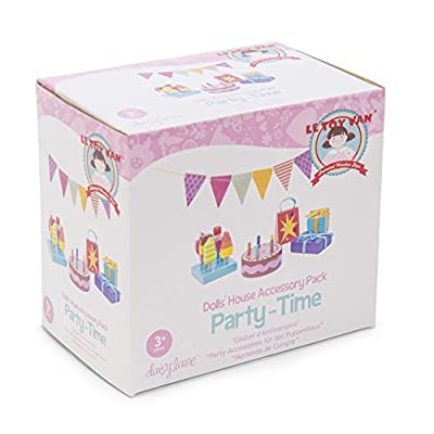 Le Toy Van Daisylane Party-Time Doll's House Accessory Pack: Toys & Games