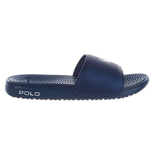 Polo Ralph Lauren Mens Rodwell Lysbilde Sandal Blå
