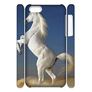 Horse Running Brand New 3D Cover Case for Iphone 5C,diy case cover ygtg522196