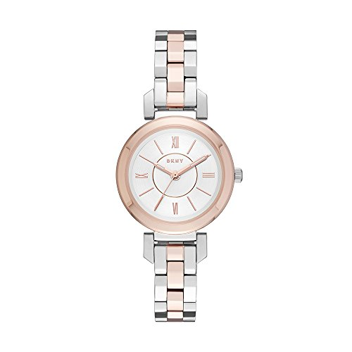 DKNY Women's 'Ellington' Quartz Stainless Steel Casual Watch, Color:Silver-Toned (Model: NY2593)