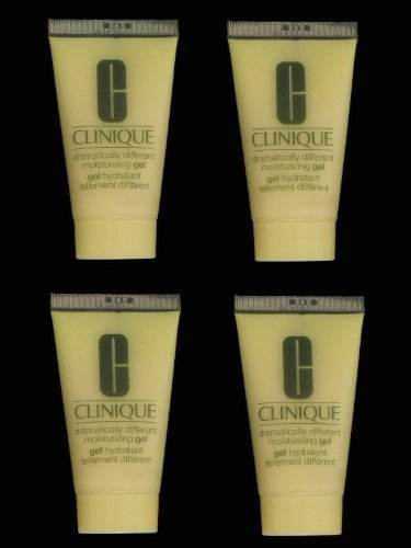Lot of 4 x 1 oz Clinique Dramatically Different Moisturizing Gel Step 3 for Oily Skin Total 4 oz / 120 ml *NEW*
