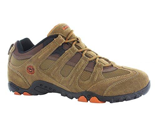 Hi-Tec Quadra Classic–Zapatos de Senderismo–AW15, Color Marrón, Talla 41 EU