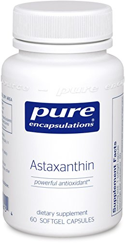 Pure Encapsulations Astaxanthin Fat Soluble Antioxidant