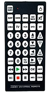 Amazoncom The Sharper Image Oversized Universal Remote Control