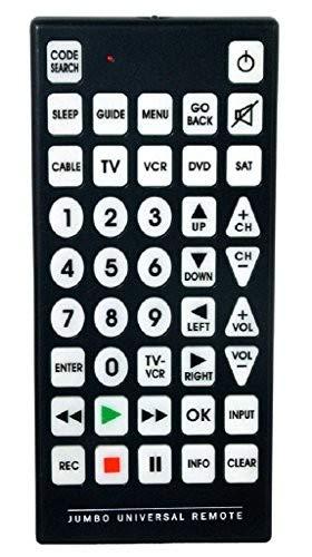 QFX REM-115 Jumbo 8-1 Universal Remote Control Accessory Consumer Accessories