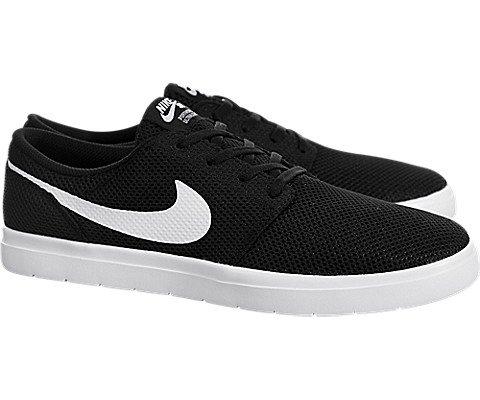NIKE SB Portmore II Ultralight Mens Skateboarding-Shoes 880271-010_10.5 - Black/White by NIKE