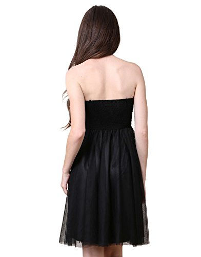 Noir CoquinesRobe Robes Femme Miss Bustier dCrBeQxoW