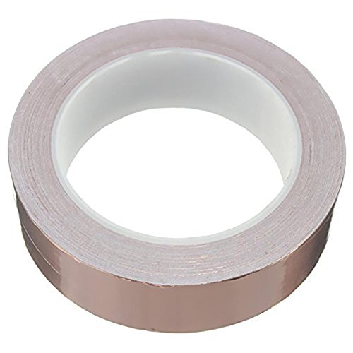 hot-sales-30mmx20m-adhesive-single-face-electric-conduction-copper-foil-tape-emi-shielding-guitar-sl
