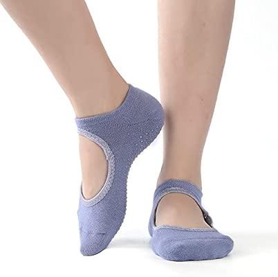 Zapatillas antideslizantes para mujeres Calcetines de yoga ...