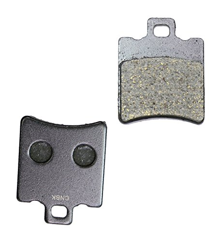 CNBK Front Disc Brake Pads Resin fit for HYOSUNG Street Bike 125 Boomer Exceed 02 03 2002 2003 1 Pair(2 (Boomer 2 Bike)