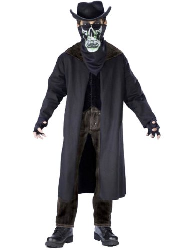 Evil Outlaw Child Large No Hat Costume (Outlaw Costumes Halloween)