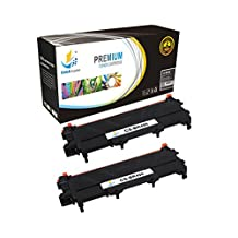 Catch Supplies TN450 2 Pack Premium Black Replacement Toner Cartridge TN-450 Compatible with Brother MFC-7860dw 7460dn, HL-2280dw 2270dw 2250dn 2240 2230 2220, DCP-7056dn 7060d Printers |2,600 Yield|