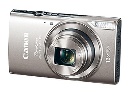 amazon com canon powershot elph 360 digital camera w 12x optical