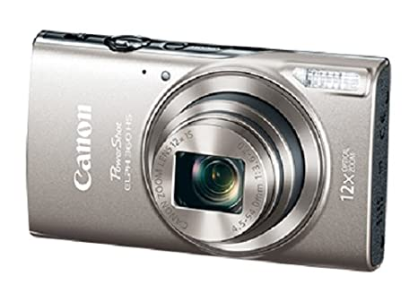 Canon PowerShot ELPH 360 HS (Purple) with 12x Optical Zoom and Built-In Wi-Fi Canon Canada (Direct) 1081C001
