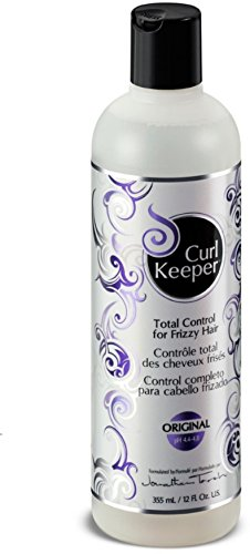 CURLY HAIR SOLUTION Curl Keeper Original - Total Control In All Weather Conditions For Well Defined, Frizz-Free Curls With No Product Build Up (12 Ounce/355 Milliliter) - Curl Keeper