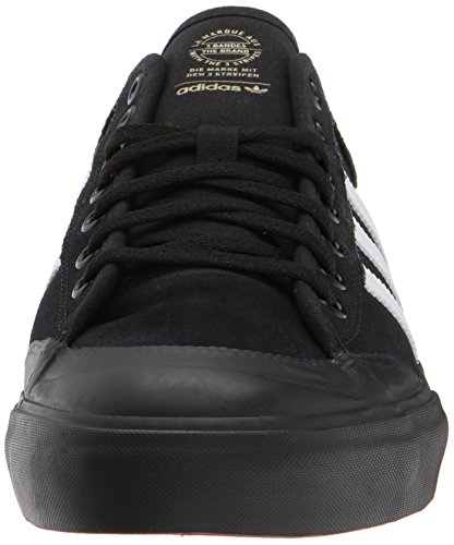 Adidas Heren Matchcourt Sneakers, Wit / Wit / Wit, (4.5 M Ons) Kern Zwart / Wit / Gom