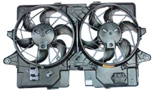 (TYC 620660 Ford/Mazda Replacement Radiator/Condenser Cooling Fan Assembly)