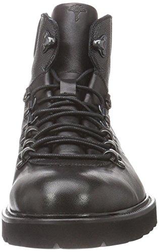 Joop! Kosmas Mid Lace Calf/Chicco, Náuticos Para Hombre Negro - negro (900)