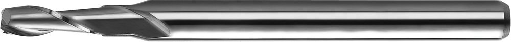 Carbide 2 Flute 3//16 Shank Dia 0.1875 Cutting Dia 30 Degree Angle 0.625 Cutting Length 2 L KYOCERA 1616-1875.625CR Series 1616 Standard Length Corner Radius End Mill Uncoated