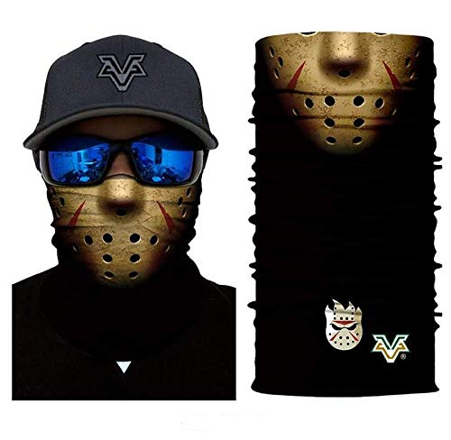 3D Jason Hogy Face Tube Neck Face Scarf Lower Half Face Mask Motorcycle Bicycle Shield Sun Air Soft Outdoor Biker Riding Masks No.78 for $<!--$17.50-->