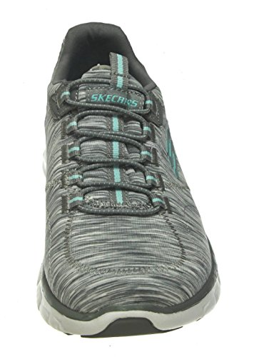 Ch light Ginnastica Empire Scarpe take Synergy Blue Skechers Basse Grey Da Donna qEaFwxxA