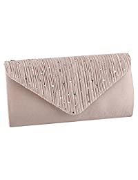 Evening Bags And Clutches,TSRHFGT Dressy Handbags For Evening Clutch Handbag And Purse Rhinestone Wedding