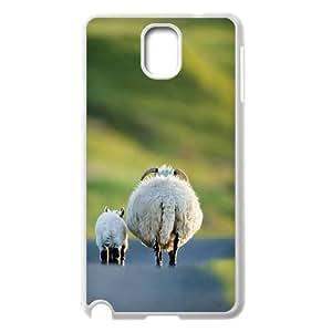 Custom Sheep Phone Case for SamSung Galaxy note3 n9000, Sheep Note3 Cell Phone Case, Personalized Sheep n9000 Case WANGJING JINDA