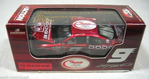 Action Racing Collectables ARC RCCA Club Kasey Kahne 2004 Dodge Intrepid #9 Rookie of the Year Logo Liquid Color Finish Hood Opens Yellow Rookie Stripes 1/64 Scale Limited Edition Only 576 Made