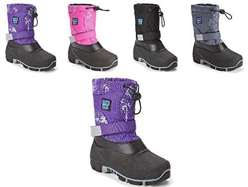 Storm Kidz Cold Weather Snow Boot 3101 Purple - Snow Boots Big Boys Size 6