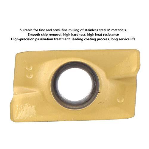 Hartmetalleinsätze, 10-teilige Hartmetalleinsätze aus Hartmetall, 15-50 HRC CNC-Klinge mit hoher Härte für das Mahlen von rostfreiem Stahl