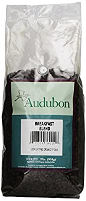 Audubon Whole Bean Coffee, Breakfast Blend, 32 Ounce