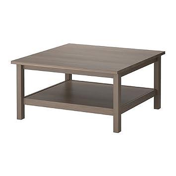Ikea Hemnes Couchtisch Grau Braun 90x90 Cm Amazonde Küche
